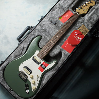 Fender American Professional Stratocaster HH Shawbacker ATO / RW (Antique Olive / Rosewood) #16112413