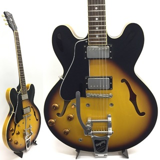 Tokai ES178L Lefty Sunburst with Bigsby