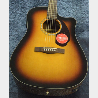 Fender Acoustics CD-140SCE Walnut Fingerboard Sunburst  【エレアコ】【総本店アコースティック】
