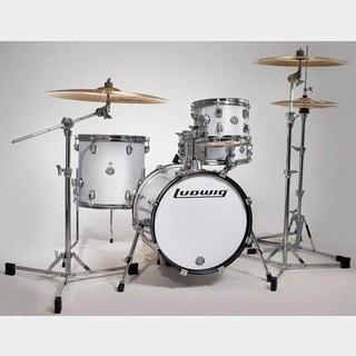 "Ludwig LC179X028 [BREAKBEATS OUT FIT / AHIMIR ""?UESTLOVE"" THOMPSON Collaboration (White Sparkle)]"