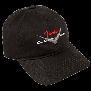 Fender 【在庫アリ即納可!!】Custom Shop Baseball Hat, Black, One Size Fits Most