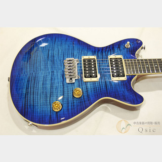 T's Guitars Arc-STD24 VS100N 5A Flame Maple Top Trans Blue Burst 【返品OK】[SF037]