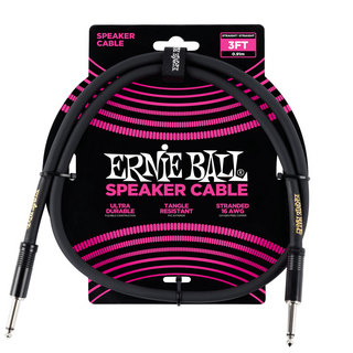 ERNIE BALL 6071 3' STRAIGHT/STRAIGHT SPEAKER CABLE スピーカーケーブル