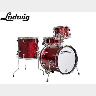 Ludwig LC179X 025 WINE RED SPARKLE / BreakBeats ブレイクビーツ 小口径ドラムセット