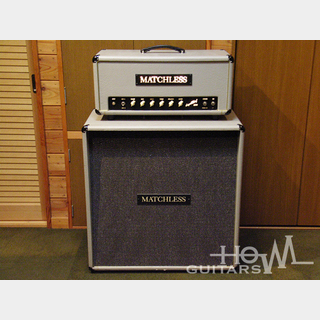 Matchless1995年製 Super Chief 120 & ES-412D Gray Sampson-Era w/Tour Case
