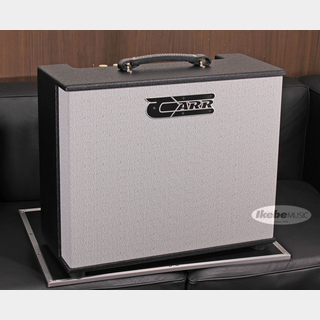 CARR Telstar 112 Combo, Mint Faceplate Cream Knobs, Black Tolex
