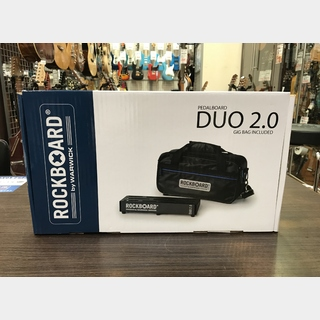 RockBoardDuo 2.0 w/Gig Bag 318 x 142 mm 【限定特価】【未展示品】