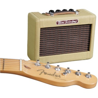 FenderMini 57 Twin-Amp Tweed ミニギターアンプ