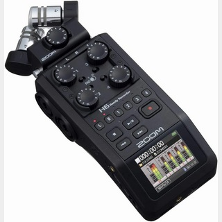 ZOOM H6 Black Handy Recorder ハンディーレコーダー