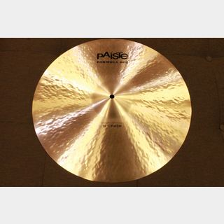 "PAiSTe Formula 602 Modern Essentials 18"" Crash【定価より30%OFF!】"