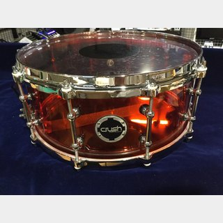 CRUSH A2C 14X6R Red アクリルスネア