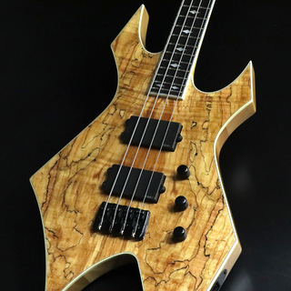 B.C.Rich PAOLO GREGOLETTO Signature 4 String NT Warlock Bass  Warlock Series Natural 【心斎橋店】