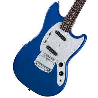 Fender Made in Japan Traditional 70s Mustang Rosewood Fingerboard Sapphire Blue Trans 【WEBSHOP】