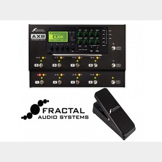 FRACTAL AUDIO SYSTEMS AX8+EV-1 BK set【フロアタイプのオールインワンユニット】新品即納OK【高崎店在庫】