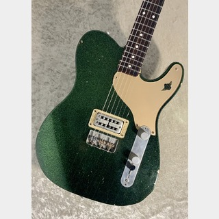 RS Guitarworks OLD FRIEND ROCKABILLY JR. CADDY GREEN SPARKLE '10s 【USED】