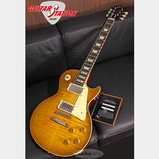 Gibson Custom Shop Historic Collection 1959 Les Paul Standard Reissue VOS, Golden Poppy Burst SN.9 0464