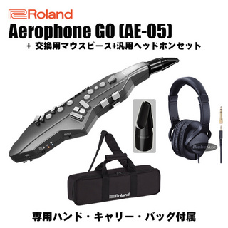 Roland Aerophone GO AE-05 +OP-AE05MPH+ 汎用ヘッドホンセット 【純正バッグ付】 【7月28日発売予定】