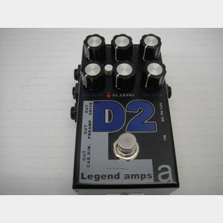 AMT ELECTRONICS D2 Legend amps