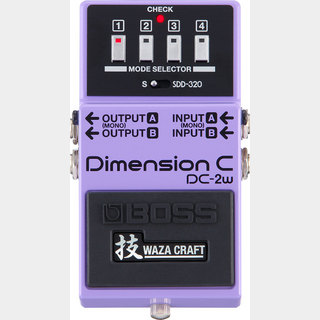 BOSS DC-2W Dimension C 技 WAZA CRAFT