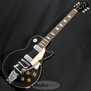 Gibson Custom Shop IKEBE Order Historic Collection 1956 Les Paul VOS Antique Ebony w/Mini Humbuckers & Bigsby