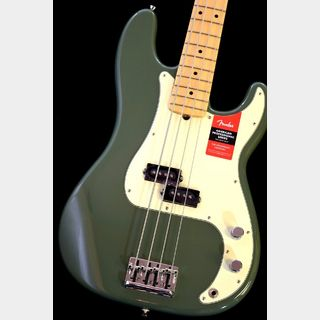 Fender American Professional Precision Bass -Antique Olive/M-【NEW】※軽量個体 !【本店】