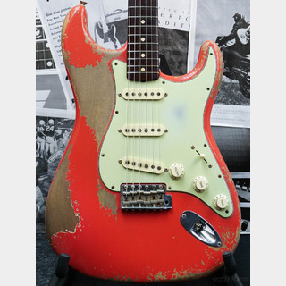 Fender Custom Shop MBS 1961 Stratocaster Heavy Relic -Fiesta Red- by Dale Wilson 2017USED!!