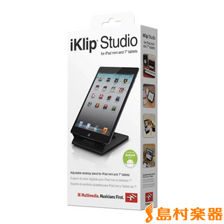 IK Multimedia iKlip Studio iPadmini用 デスクトップスタンド