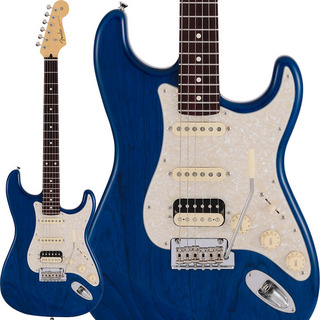 Fender Made in Japan Made in Japan 2019 Limited Collection Stratocaster HSS (Sapphire Blue Trans/Rosewood Fingerboard)