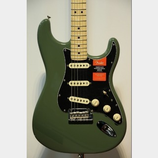 Fender American Professional Stratocaster Maple / Antique Olive★タイムセール!30日まで★