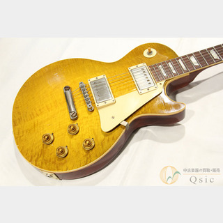 Gibson Custom Shop True Historic 1958 Les Paul Standard Murphy Aged Green Lemon Faded 2016年製 【返品OK】[OH015]