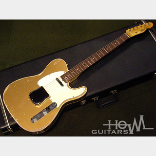 HOWL GUITARS Custom Newscaster Firemist Gold / Rose #014