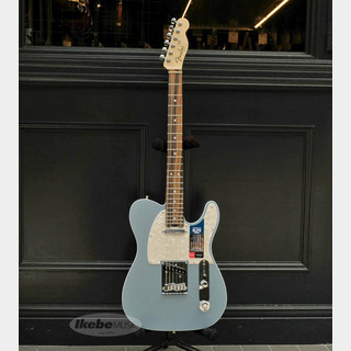Fender American Elite Telecaster (Satin Ice Blue Metallic/Ebony)
