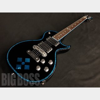 Zemaitis A24SU BLUE DIAMOND (Black Blue)