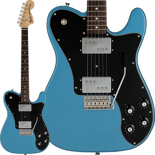 Fender Made in Japan Limited 70s Telecaster Deluxe with Tremolo (Lake Placid Blue/Rosewood)