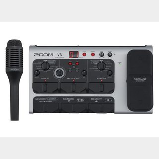 ZOOM V6 Vocal Processor 【次回入荷予約】