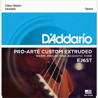 D'AddarioEJ65T Pro-Arte Custom Extruded Nylon Tenor ダダリオ ウクレレ弦 【池袋店】