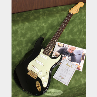 Fender Custom Shop MBS '61 Stratocaster NOS Black w/Gold Hardware Master Built by Paul Waller SN. CZ519908