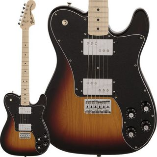 Fender Made in Japan Traditional 70s Telecaster Deluxe (3-Color Sunburst)