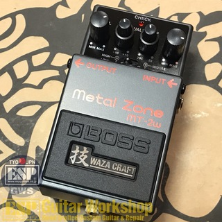 BOSS MT-2W Metal Zone 技 WAZA CRAFT