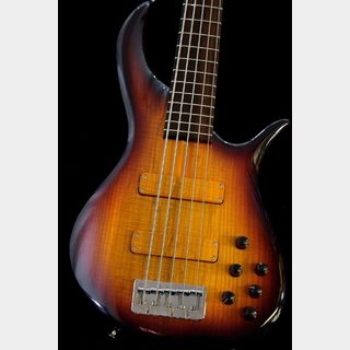 "F-bass BN-5 "" European Flamed Ash Body"" -Sunburst/Rosewood-【USED】【本店】"