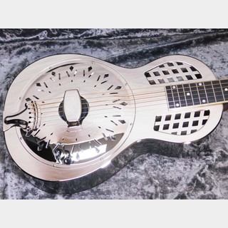 Republic Guitars Parlor Size Resolian Rocket Polished Nickel Finish