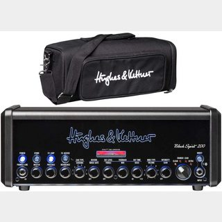 Hughes&Kettner Black Spirit 200 HUK-BS200/H + HUK-BS200/BAG ギターアンプヘッド