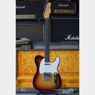 Fender Custom Shop VINTAGE CUSTOM 1959 TELECASTER CUSTOM NOS -Chocolate 3-Color Sunburst-