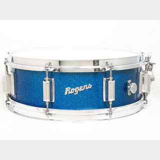 "Rogers【VINTAGE】60's PowerTone Sparkling Blue Pearl Cleveland 14""×5"""