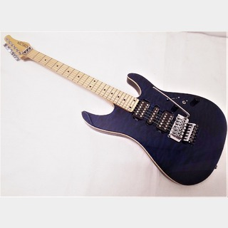 SCHECTER NV-3-24-AL See-thru Blue