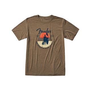 Fender Sunset Spirit T-Shirt Olive L 半袖 Tシャツ