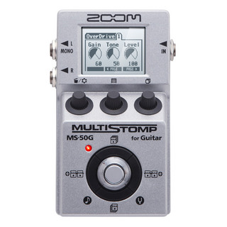 ZOOM MS-50G MultiStomp Guitar Pedal【名古屋栄店】
