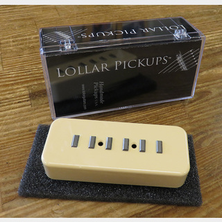 LOLLAR PICKUPS P-90 Soap Bar Staple cream soapbar cover neck position