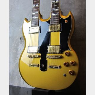 Gibson USA Custom ShopEDS-1275 / Metallic Gold / Tom Murphy