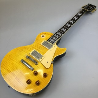 Jimmy Wallace LP Flame Lemon Burst